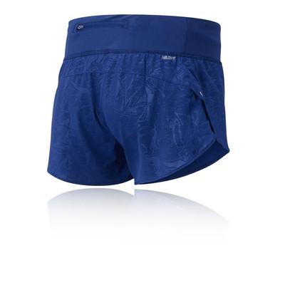 New Balance Printed Impact para mujer 3 pulgada Pantalones cortos de running - AW19