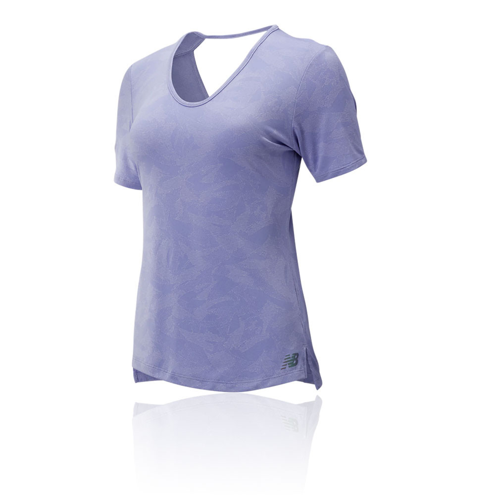 New Balance Q Speed Breathe para mujer camiseta de running - AW19