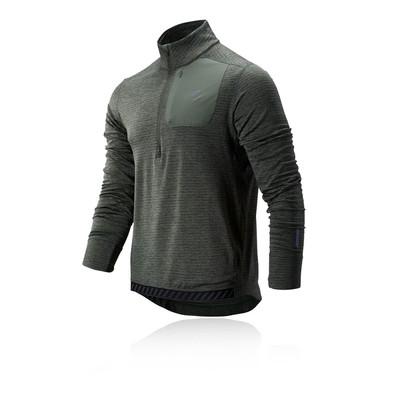 New Balance NB Heat Quarter cremallera camiseta de running - AW19