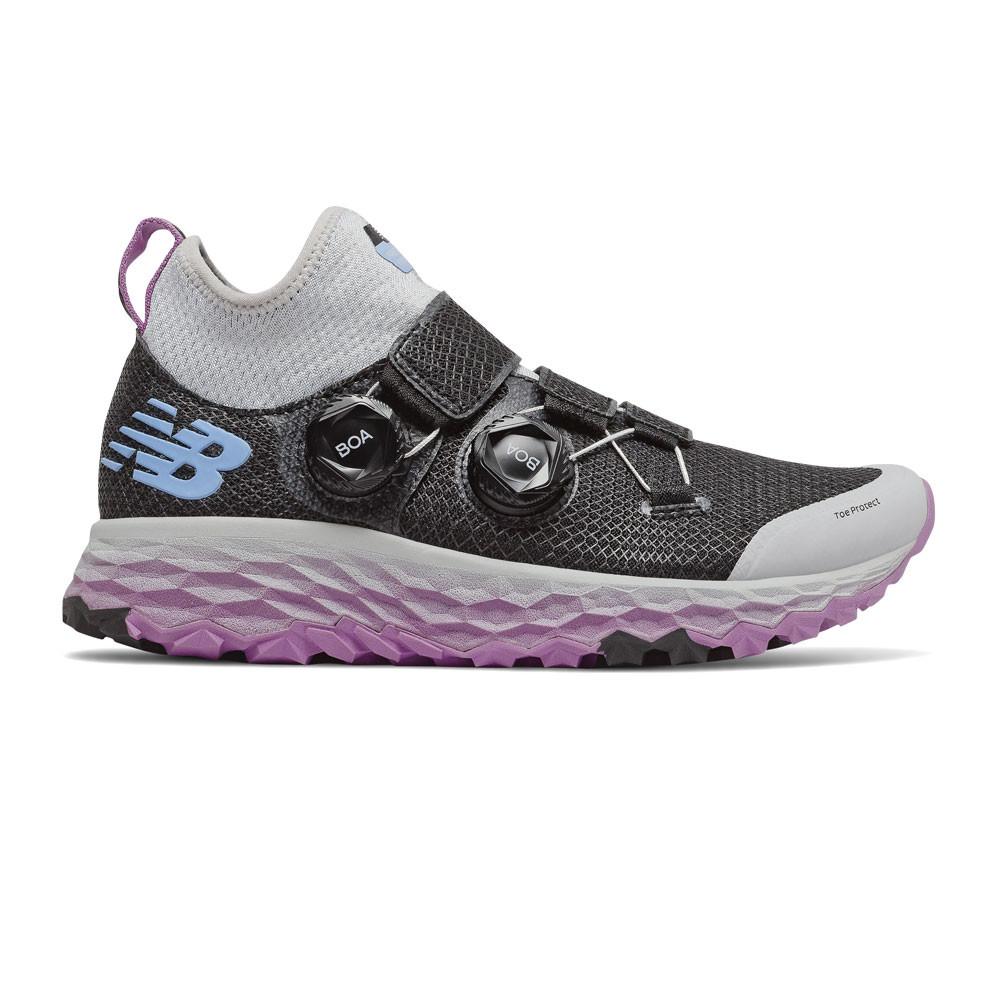 New Balance Damen Fresh Foam Hierro Boa Turnschuhe Laufschuhe Sneaker Schwarz