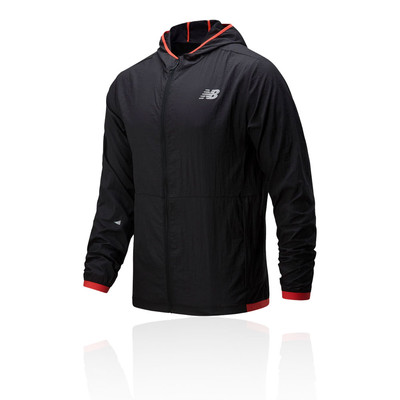 New Balance London Printed Impact Run Light Pack chaqueta - SS20