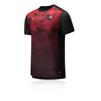 New Balance Printed London Impact Run T-Shirt - SS20