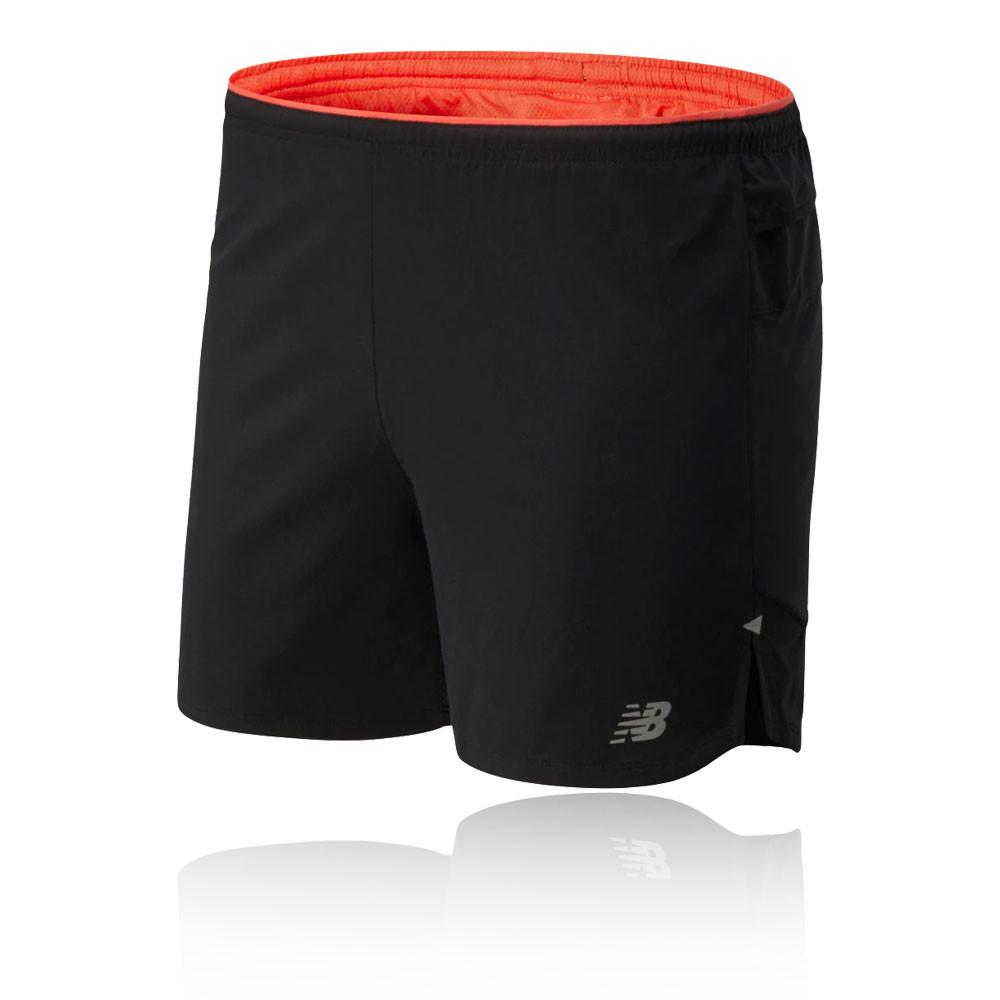 New Balance Printed Impact Run 5 Inch Shorts - SS20