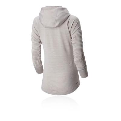 New Balance Impact Run Grid camiseta con capucha para mujer - SS20