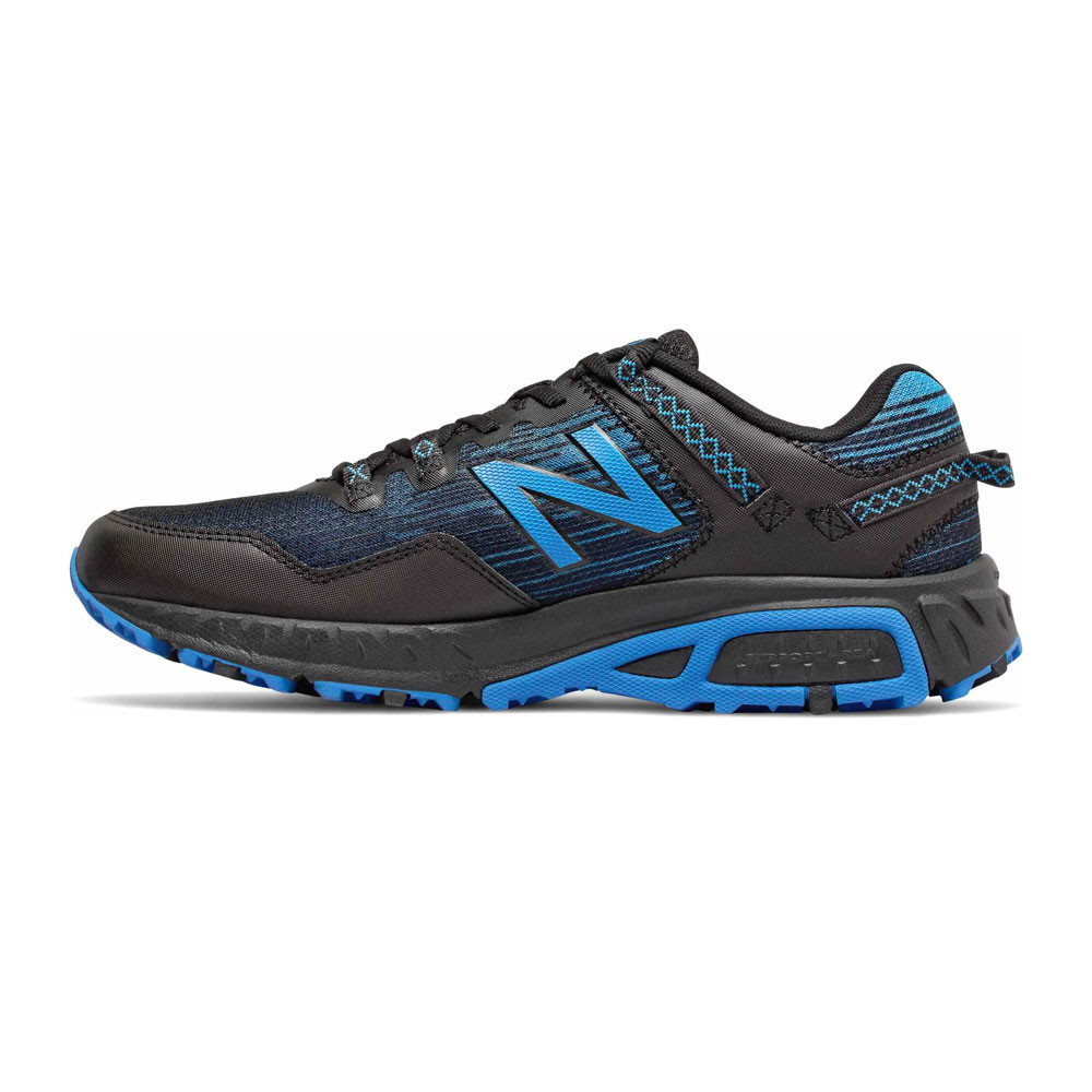 Black Blue Sports New Balance Mens 410v6 Trail Running Shoes Trainers Sneakers