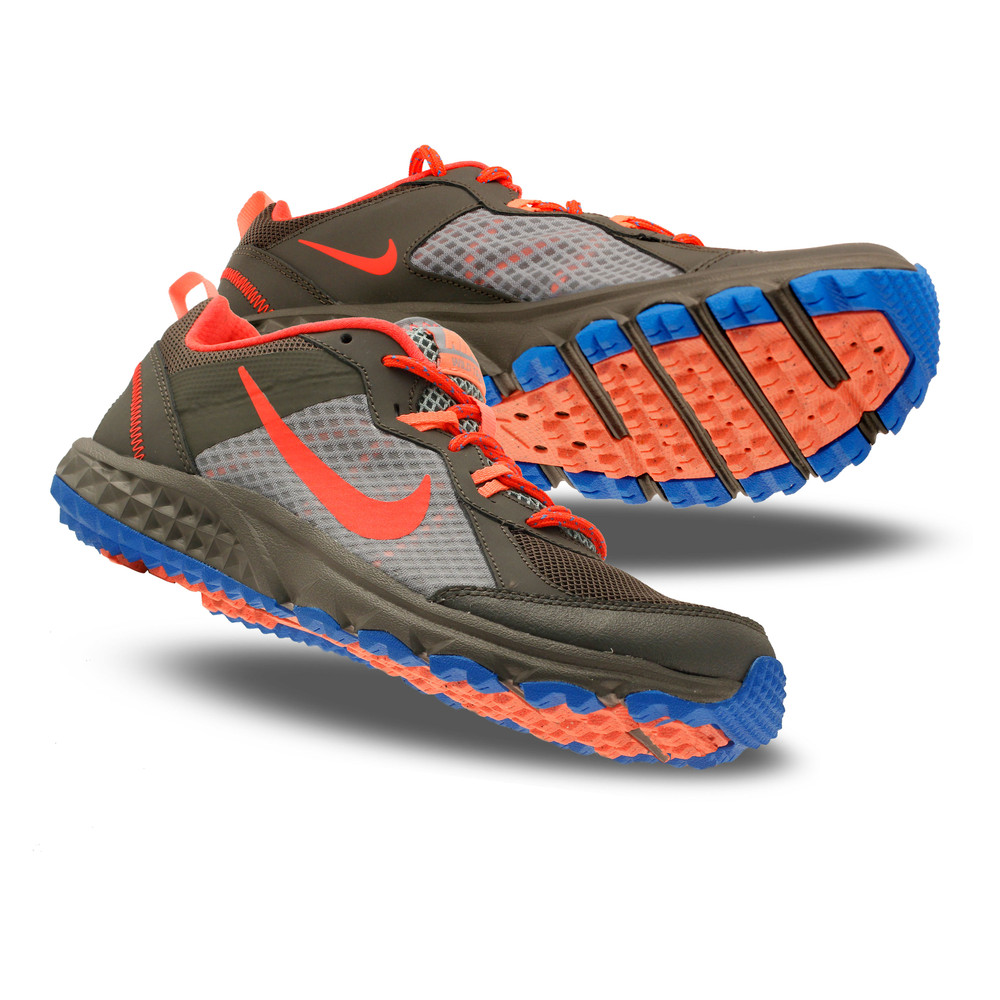 Luxury Nike Womenu0026#39;s Dual Fusion Trail Shoes-Black/University Blue-7 | Jet.com