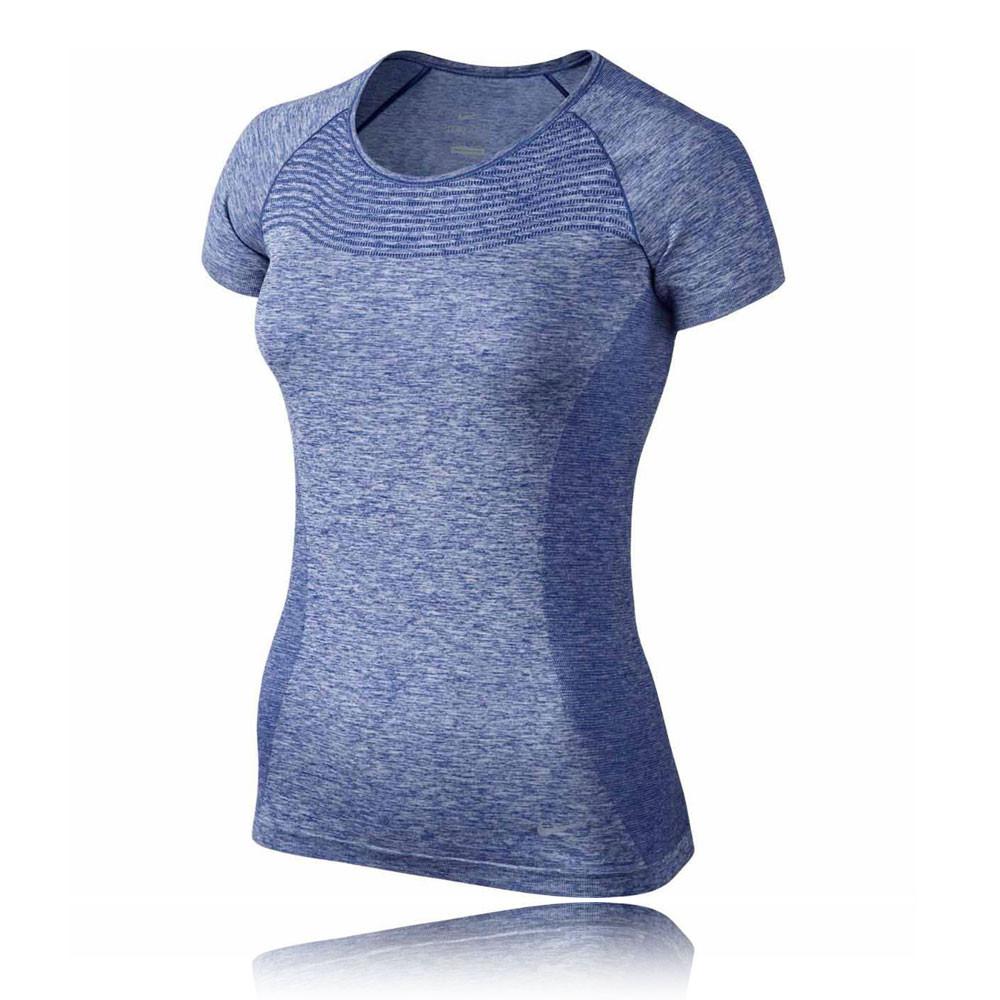 Nike dri fit knit women 39 s running t shirt sp16 for Nike dri fit t shirt ladies