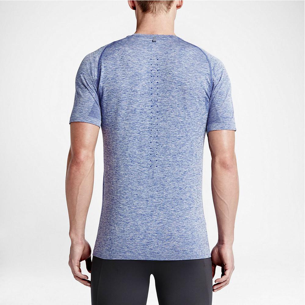 Nike dri fit knit running t shirt sp16 for Dri fit t shirts manufacturer