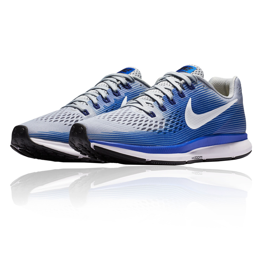 Nike Air Zoom Pegasus 34 Running Shoes (2E Width) - SP18. Hover to zoom