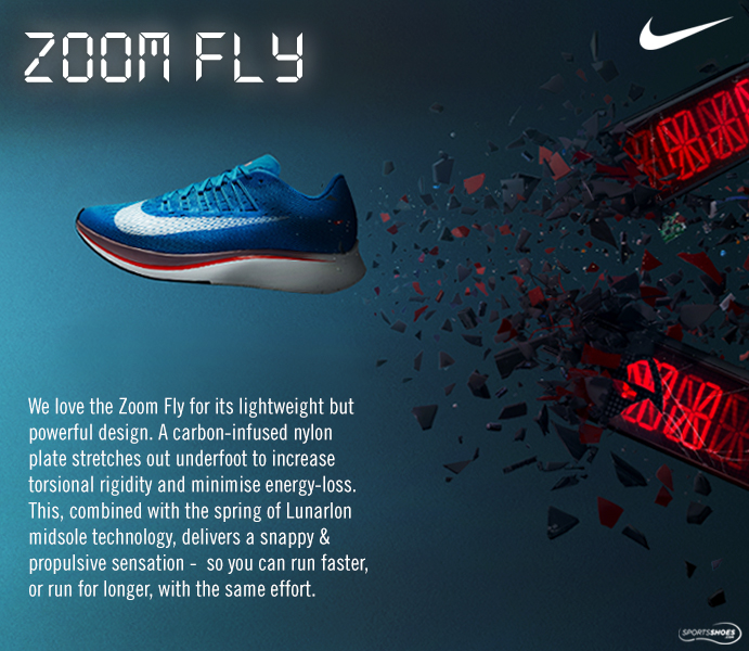 e497bcd99c37c Nike Zoom Fly Running Shoes - SP18 - Save   Buy Online