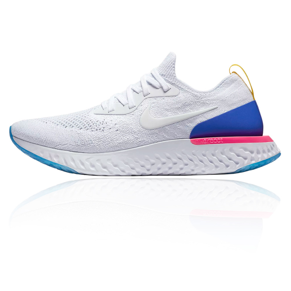 Nike Free Flyknit Running Shoe White
