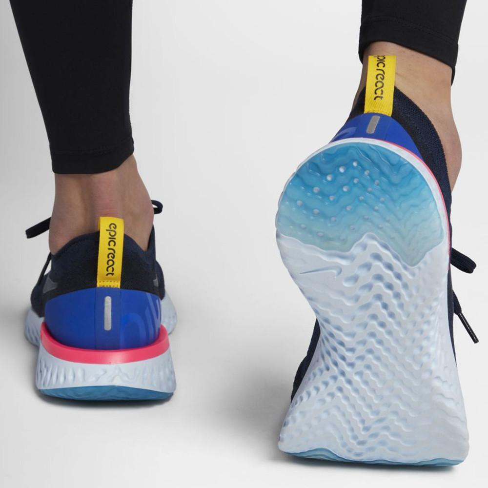 251eade7289e Nike Epic React Flyknit Women s Running Shoes - SP18 - 40% Off ...