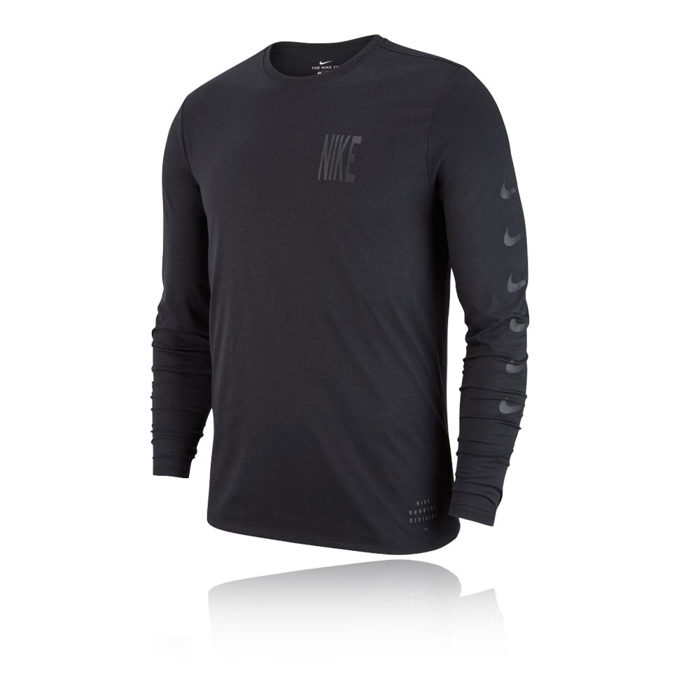 Nike Long Sleeve Running T-Shirt - HO18  130d745ca
