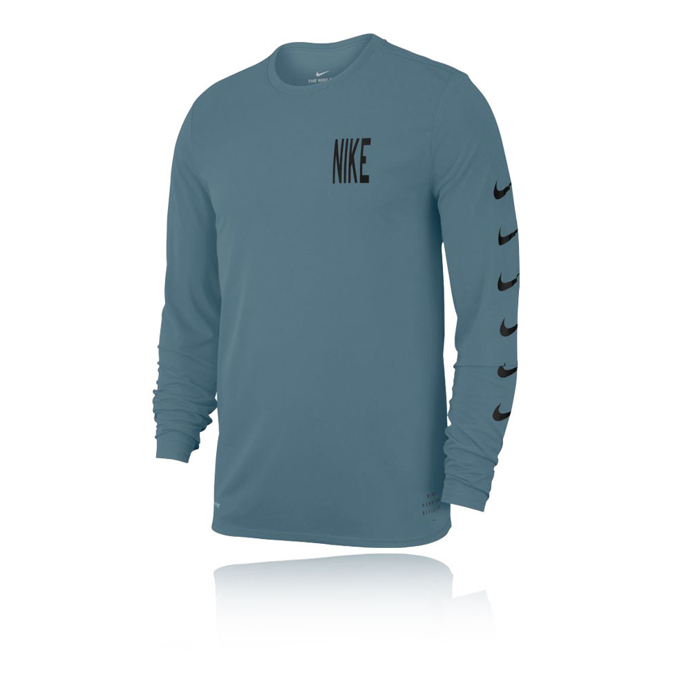 Nike Long Sleeve Running T-Shirt - SP19. £29.95 36337ef32