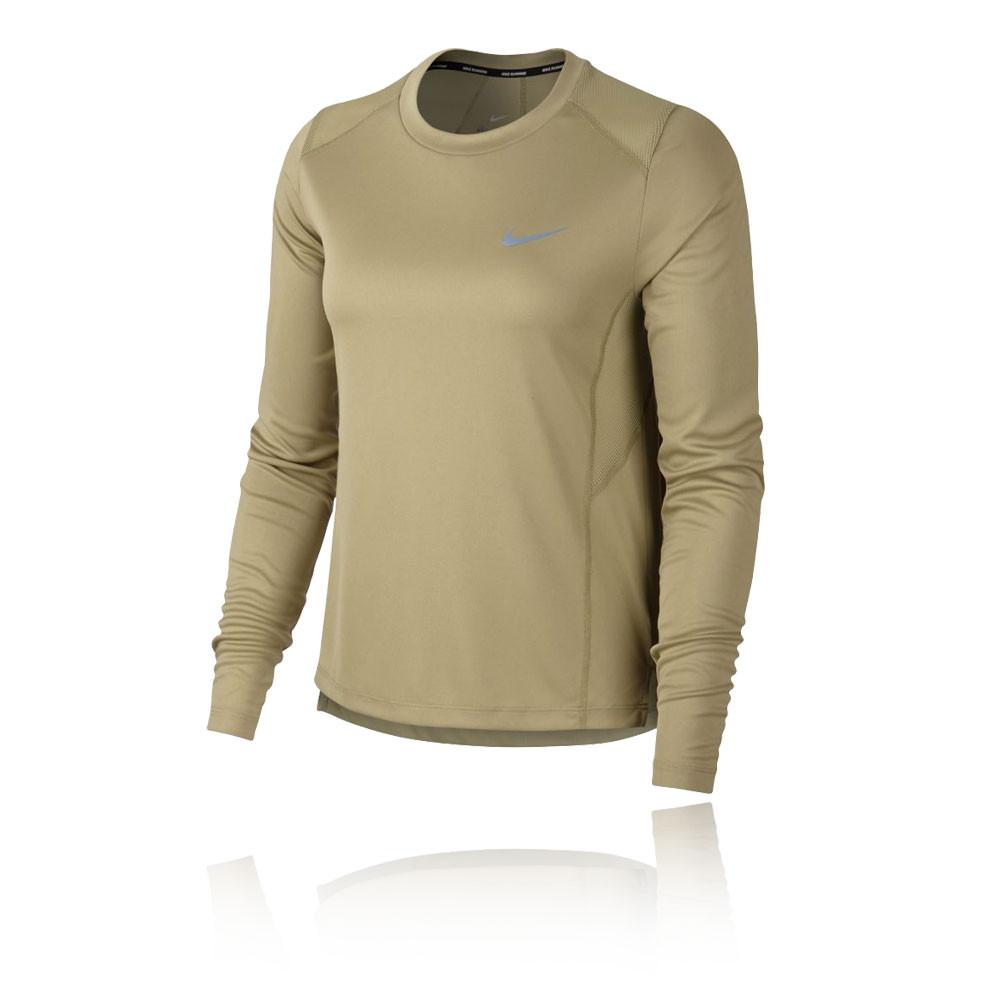 dirt cheap on wholesale new photos Nike Miler femmes manches longues t-shirt running - HO18