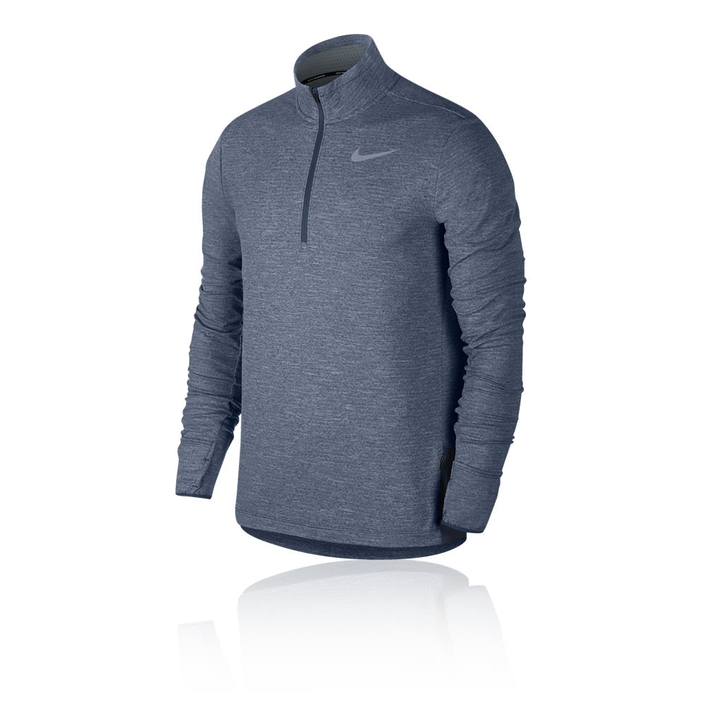 Nike Sphere Element media cremallera camiseta de running - SP19