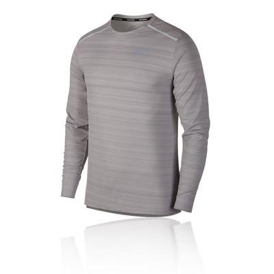 Nike Dri-FIT Miler de manga larga camiseta de running - HO19