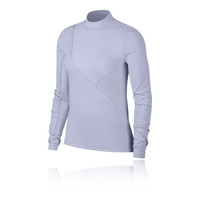 Nike Pro HyperCool Women's Long-Sleeve Ribbed Top - SP19