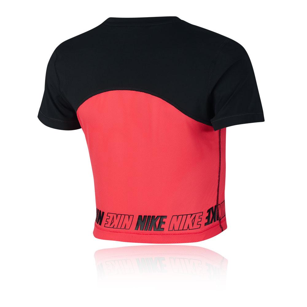 dc200e694b3eed ... Nike Pro Women s SS Crop Top - SP19 ...