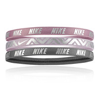 Nike Metallic Hairbands 3pk - SP19