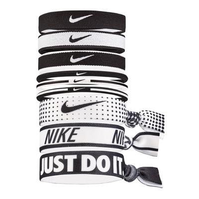 Nike Mixed Ponytail Holder 9pk - FA19
