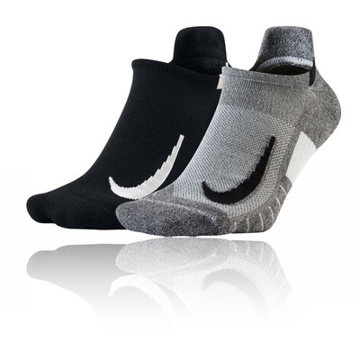 Nike Multiplier No-Show running calcetines (2 Pack) - FA19