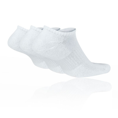Nike Everyday Cushion No-Show Training Socks (3 Pack) - SU20