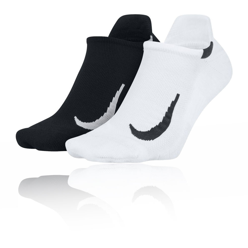 Nike Multiplier No-Show Running Socks (2 Pack) - SU20