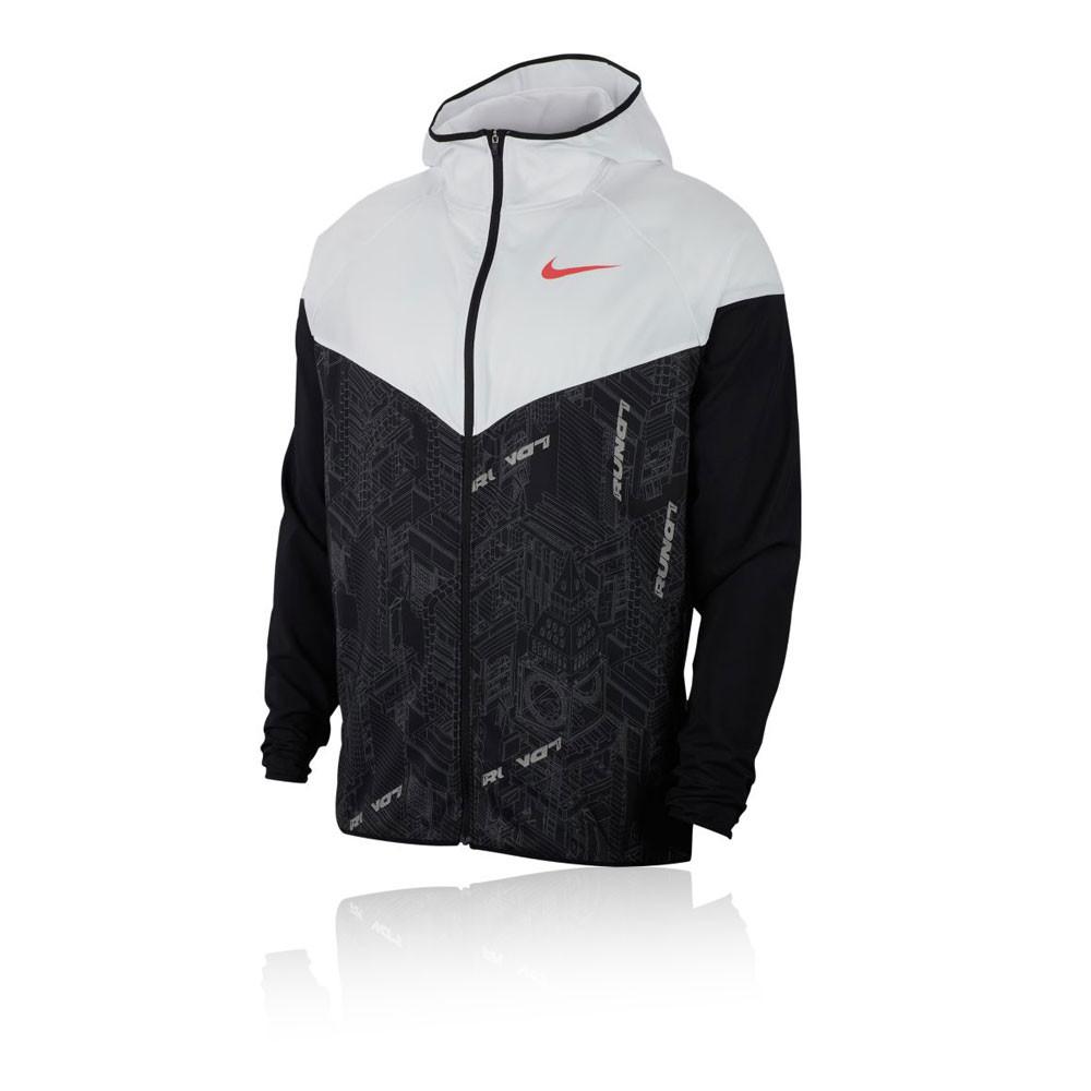 NIKE Full Zip Windrunner Jacke Damen (100) in Weiß