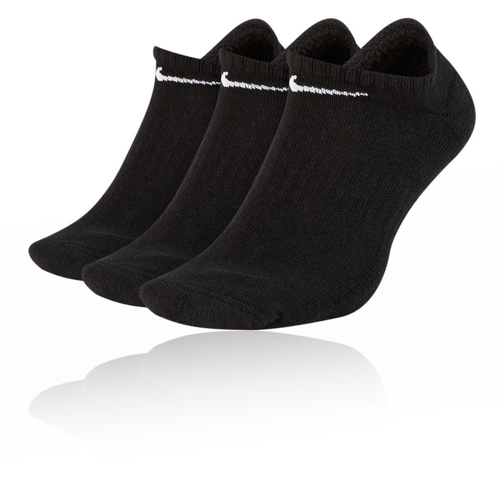 Nike Everyday Cushion No-Show Training Socks (3 Pack) - FA20