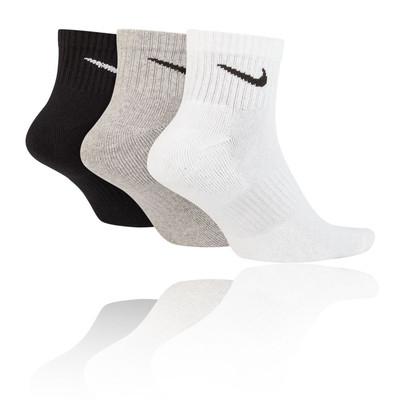 Nike Everyday Cushion Ankle Training Socks (3 Pack) - SU20