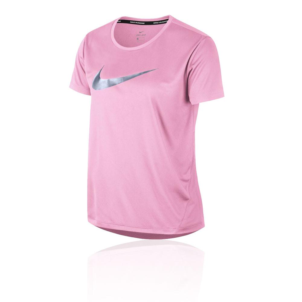 correr zapatos estilo de moda sitio autorizado Nike Miler para mujer camiseta de running - SU19