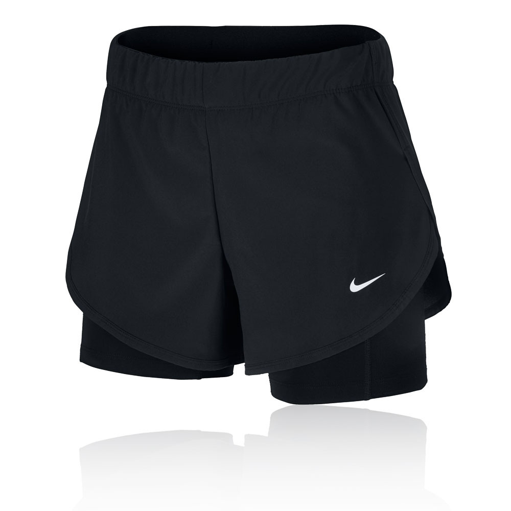 Nike Flex pantalones cortos de entrenamiento 2-en-1 para mujer - HO19