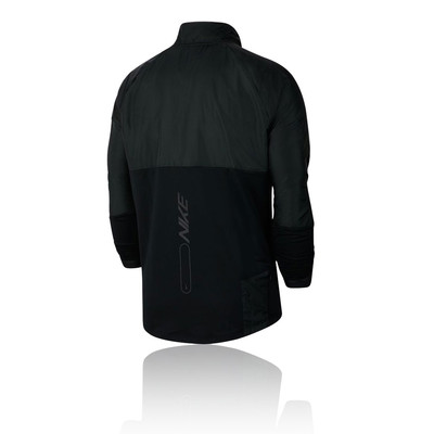 Nike Element media cremallera camiseta de running - FA19
