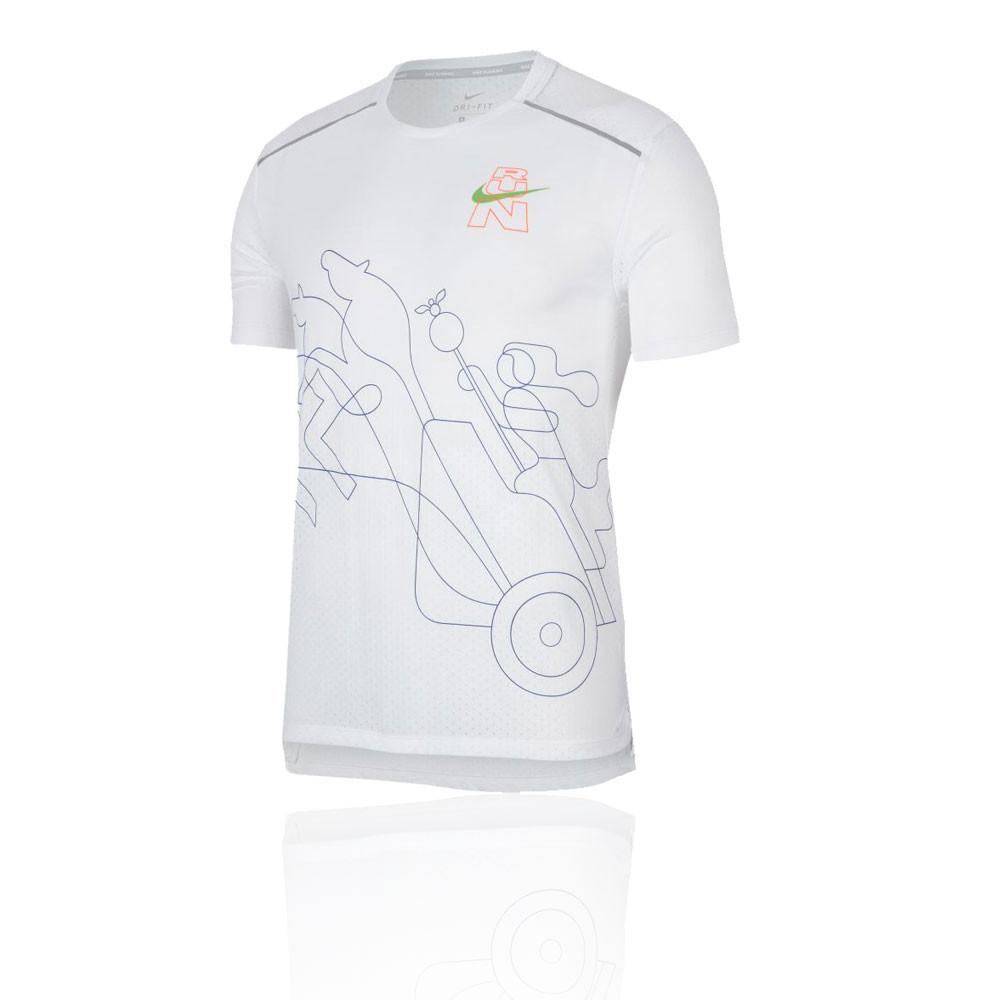 Nike Rise 365 Berlin t-shirt de running - HO19