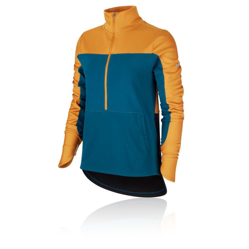 Nike Repel media cremallera para mujer camiseta de running - HO19