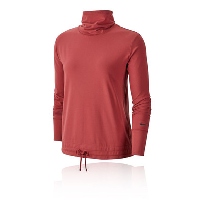 Nike Yoga Funnel-Neck para mujer Top - HO19
