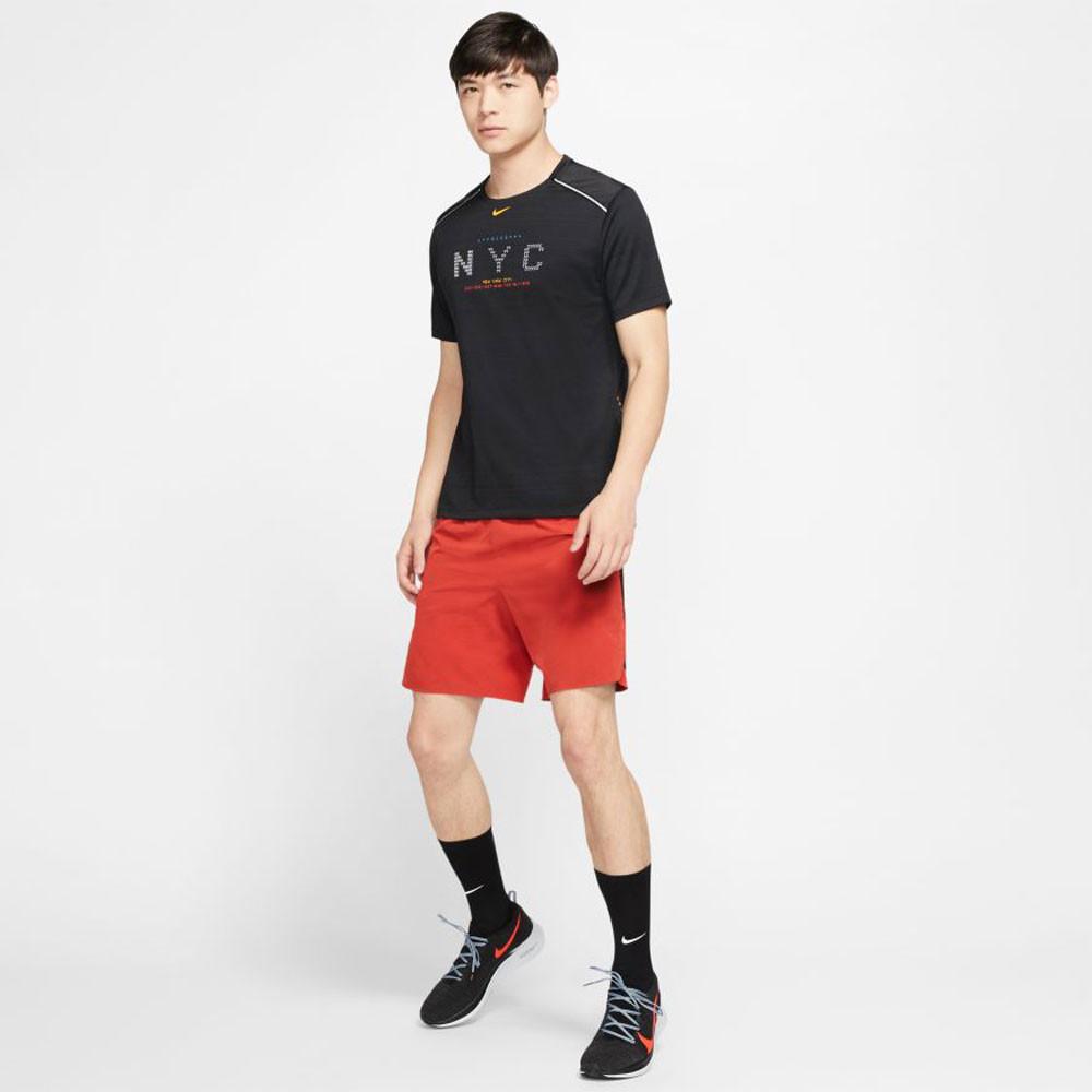 Nike Dri-FIT Miler NYC Lauf-T-Shirt - HO19