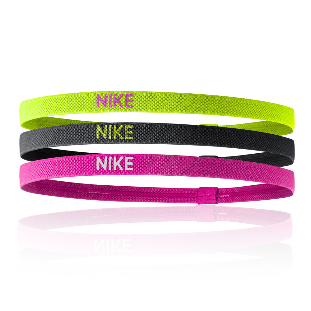 Nike Elastic Hairbands (3 Pack) - HO19