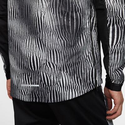 Nike Element Media cremallera camiseta de running - SP20
