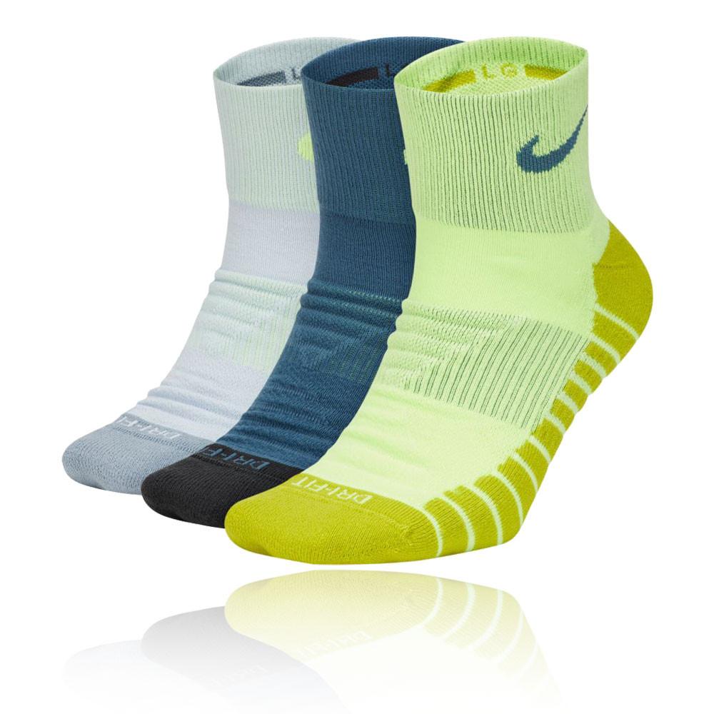 Nike Everyday Max Cushion calcetines de entrenamiento tobilleros (3 pares) - SP20