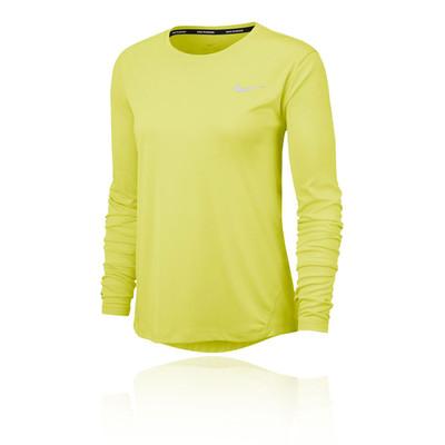 Nike Miler Camiseta running de manga larga para mujer - SP20