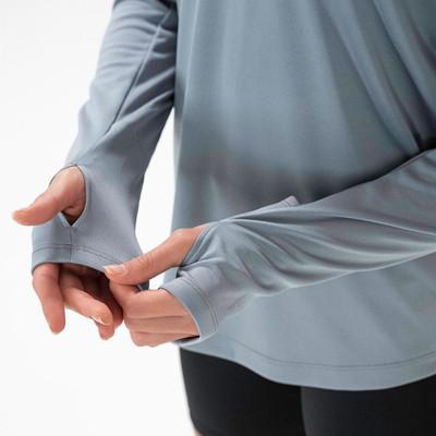 Nike para mujer 1/4-Zip camiseta de running - SP20