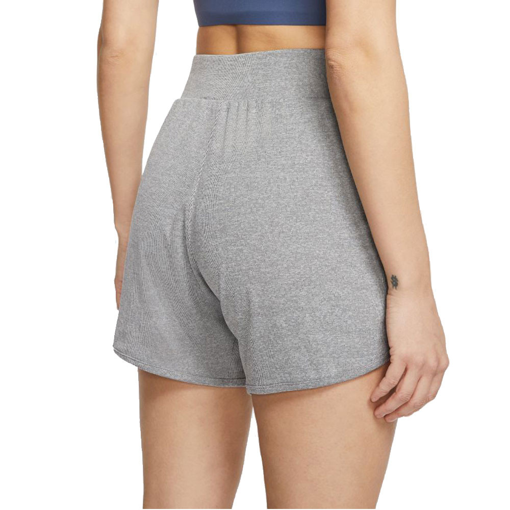 Nike Yoga Women S Ribbed Shorts Fa20 Sportsshoes Com