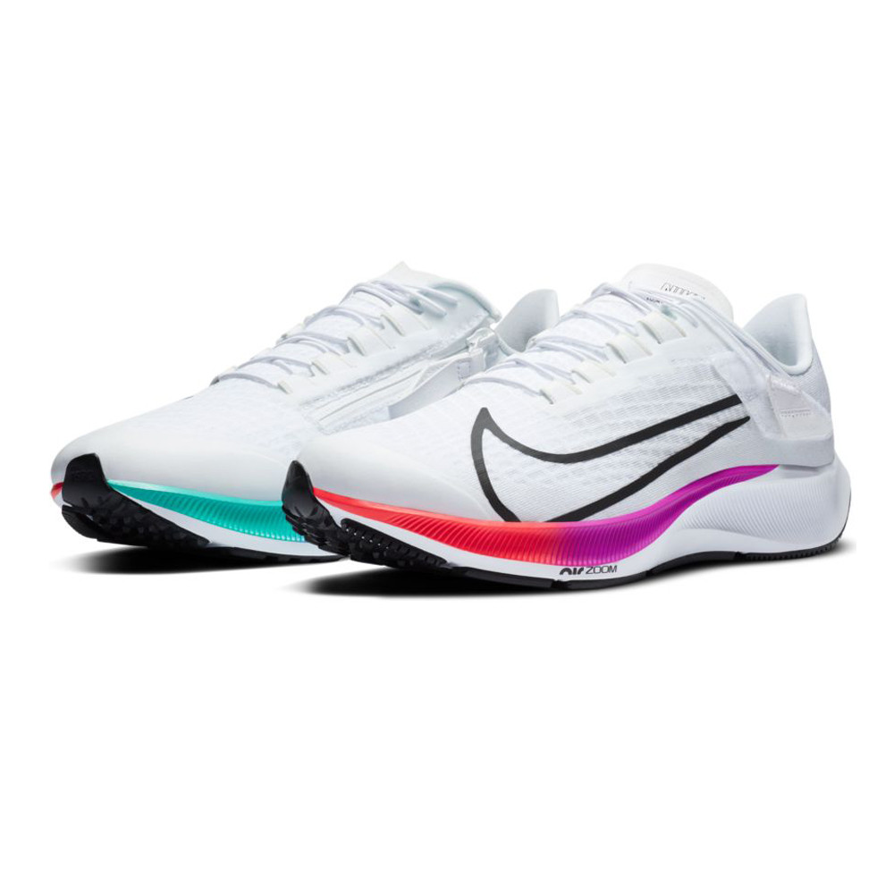 Nike Air Zoom Pegasus 37 FlyEase Running Shoes (4E Width) - FA20