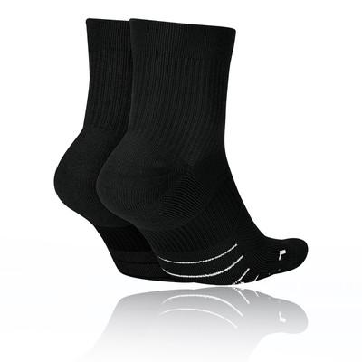 Nike Multiplier Running Ankle Socks (2 Pair) - SU20