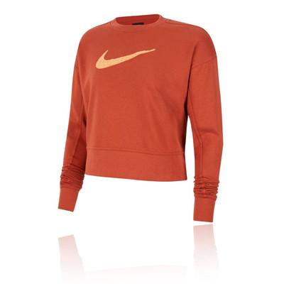 Nike Dri-FIT Get Fit Women's Swoosh Training Crew Top - SU20