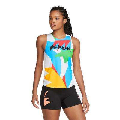 Nike AeroSwift Berlin Women's Running Vest - HO20