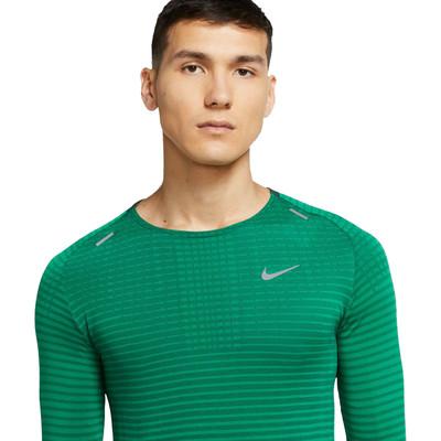 Nike TechKnit Ultra Long Sleeve Running Top - HO20