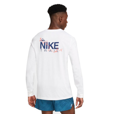 Nike Dri-FIT Trail Long Sleeve Running Top - HO20